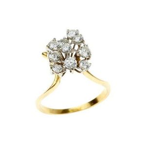 c2750441aaaff antique or later cluster diamond ring - price guide and values - page 9