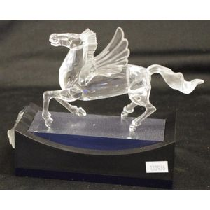 247fb4d9b Swarovski Crystal Pegasus 1998 annual edition, includes stand, 1 wing  detached, 15 cm long. Show 2 more like this