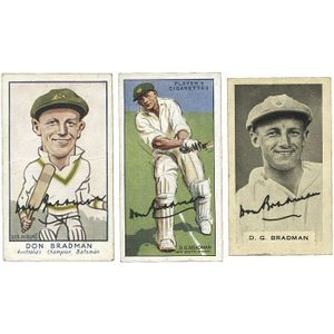 1955-58 cricket cards, noted 1955 news chronicle 'cricketers.