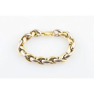 """4.5mm 18ct Yellow Gold Bolt Ring Clasp /""""Open/""""-Findings Spring-Ring-Bracelet-.750"""