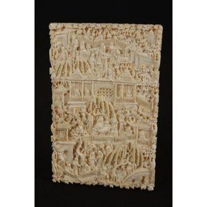 93f313edb35024 Chinese Qing Dynasty ivory card case