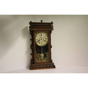 Decorative Arts Cathedral Gong For Antique American Mantel Clock