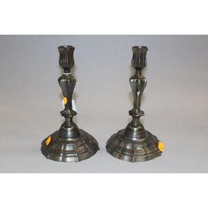 pewter candlesticks value