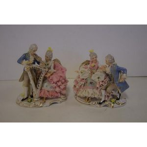 Dresden Porcelain (Germany) figures and groups - price guide and values