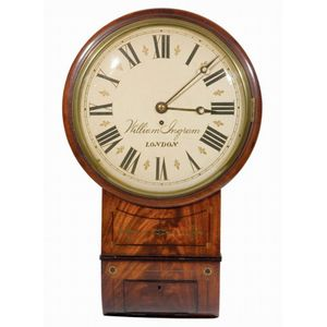 A Regulator Clock Made By A T Gaunt Amp Co Melbourne