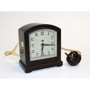 antique battery and electric clock - price guide and values