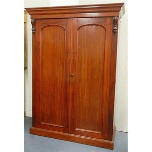 antique cedar wardrobe - price guide and values