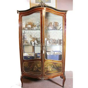 Antique Vitrines Price Guide And Values