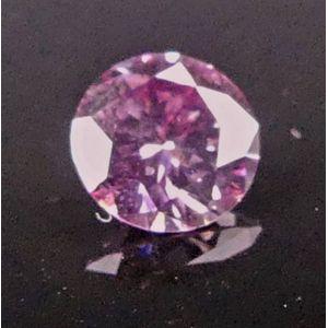 0a3de52a5 Pink Argyle, diamond, unset 0.17ct 5PP\SI1\P1 Argyle identification  certificate number 359034 fancy intense purple pink coloured round  brilliant cut 3.71 x ...