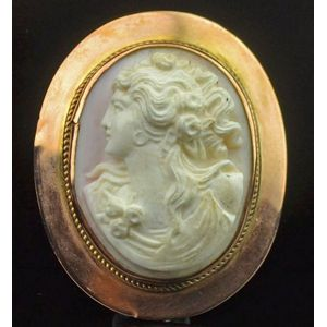 cameo brooch - price guide and values
