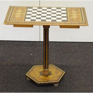 antique chess table - price guide and values