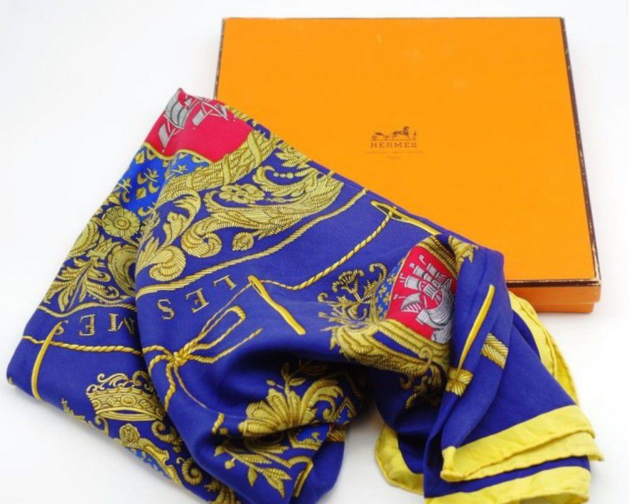 917380bb47bf Hermes Paris silk scarf in original box - Shawls, Scarfs & Collars ...