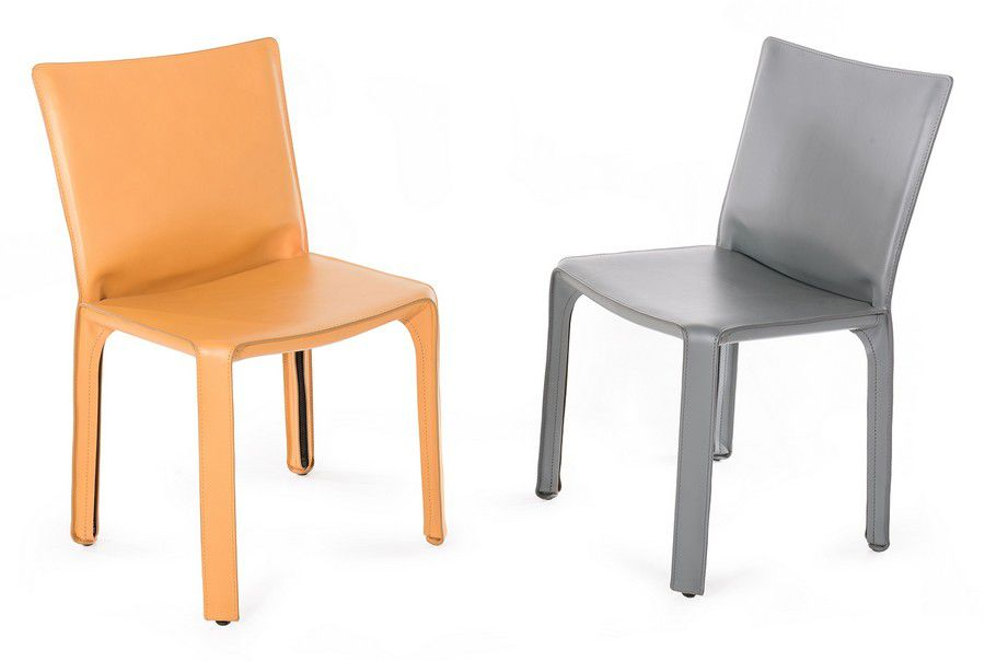 Fabulous Mario Bellini Two 412 Cab Chairs For Cassina Camel Ocoug Best Dining Table And Chair Ideas Images Ocougorg