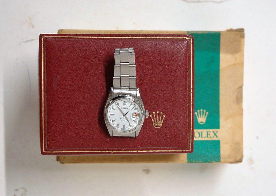 A 1950/60s Rolex 'Precision' manual wind gent's wristwatch