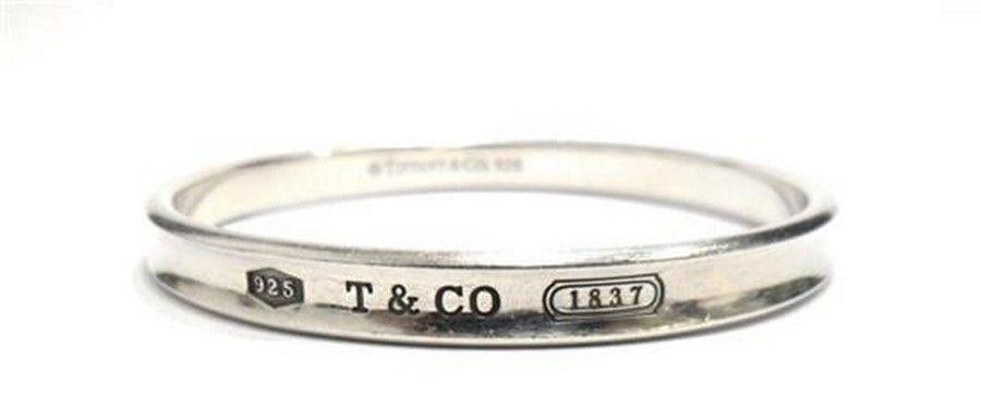 bf20ce270 A sterling silver '1837' bangle by Tiffany & Co, silver… - Bracelets ...