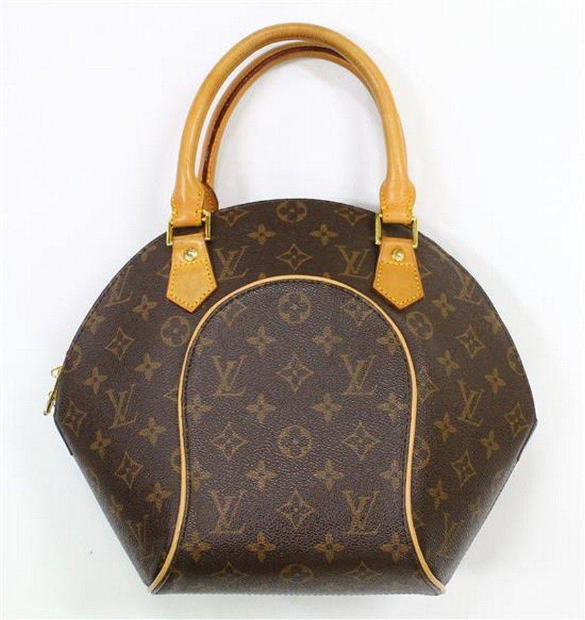 A handbag in the style of Louis Vuitton 'Ellipse' monogram,… - Handbags & Purses - Costume