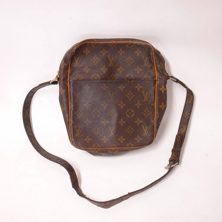 743b4bd2631b Vintage Louis Vuitton Monogram canvas Leather Petit Marceau ...