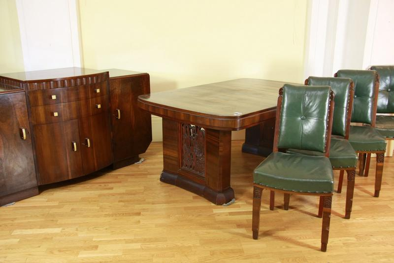 an australian art deco dining suite circa 1930 retailed