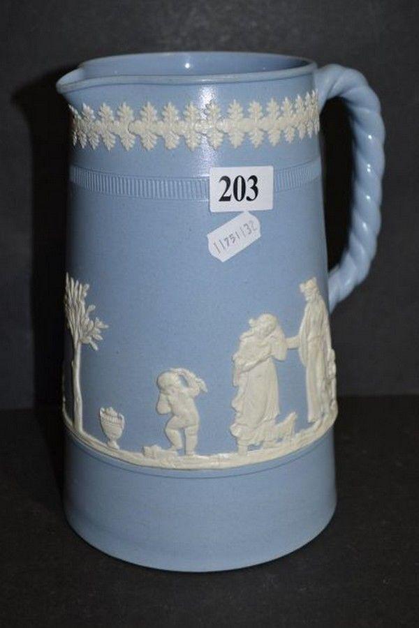Jasperware jug with Wedgwood date marks - Wedgwood - Ceramics