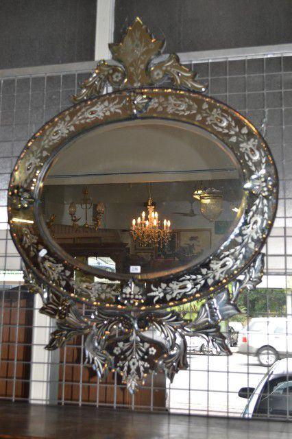 Attractive Venetian style wall mirror - Venetian / Murano ...