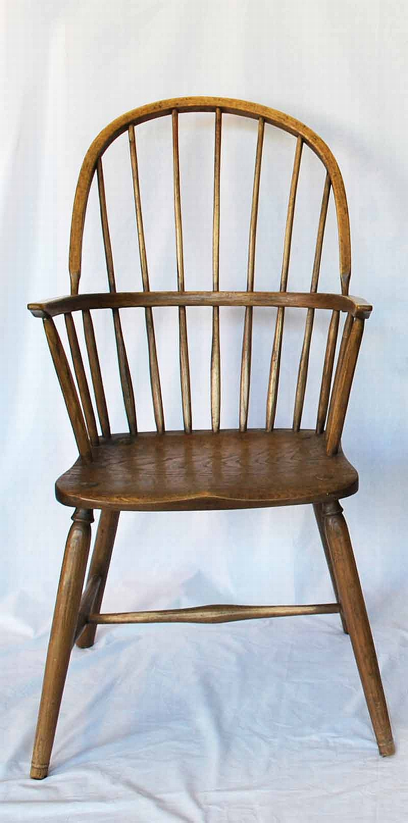 An oak high back windsor chair 19th century seating for All types of chairs