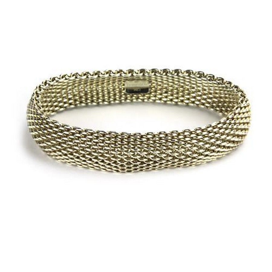 e73698e50 A Tiffany & Co sterling silver Somerset mesh bracelet, with ...