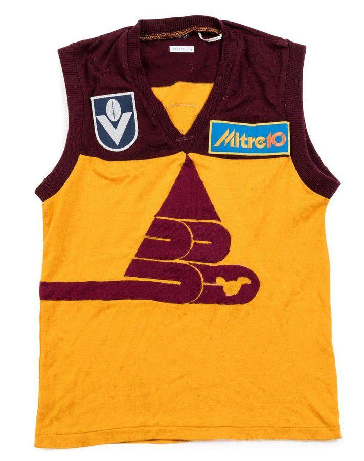 7a5854a9 Stephen Reynoldson's Brisbane Bears Jumper, match worn, with ...