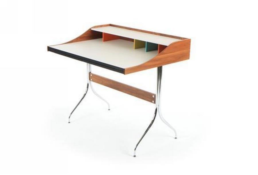 A George Nelson U0027Swag Legu0027 Desk Manufactured By Herman Miller,u2026