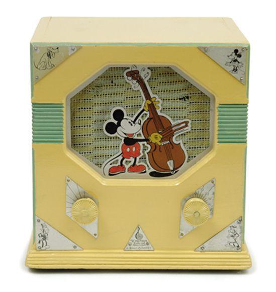 Radio emerson 410 mickey mouse circa 1933 no 621788 - Estor mickey mouse ...