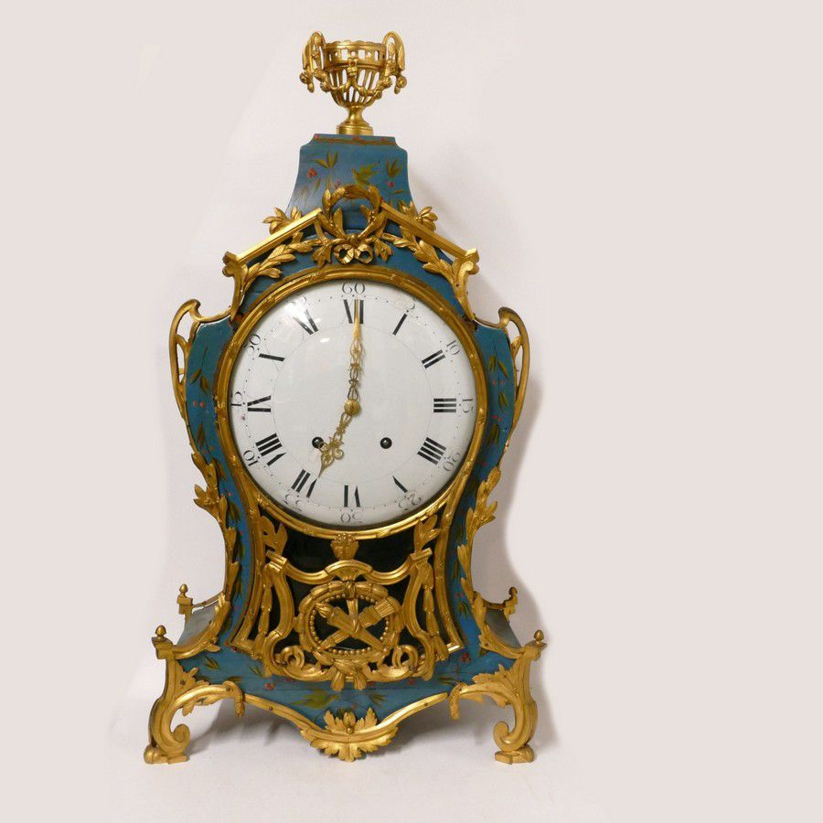 An 18thc Style French Large Bracket Clock The Pagoda Top