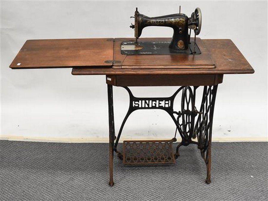 Singer treadle sewing machine models