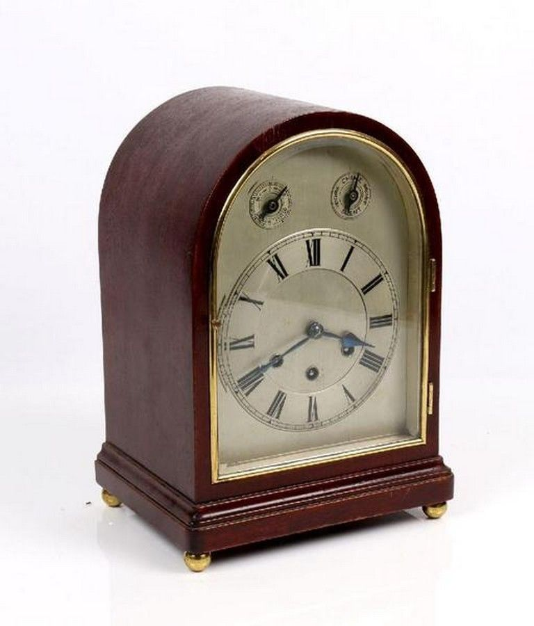 Top Gustav ClockChiming A Mantel Clock Dome Becker cS34j5RALq