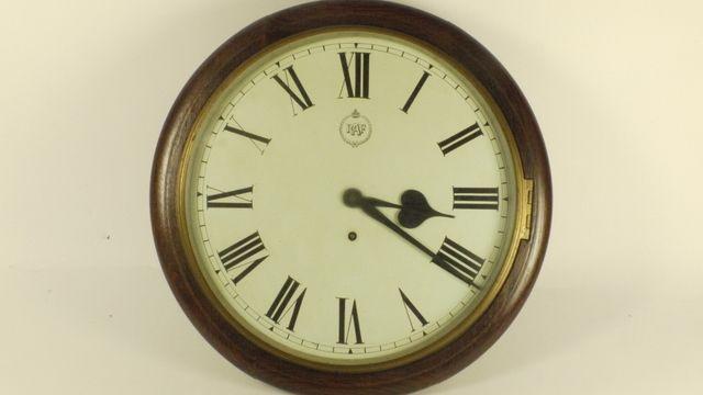 A Royal Air Force Wall Clock Circa 1930 The Circular Oak