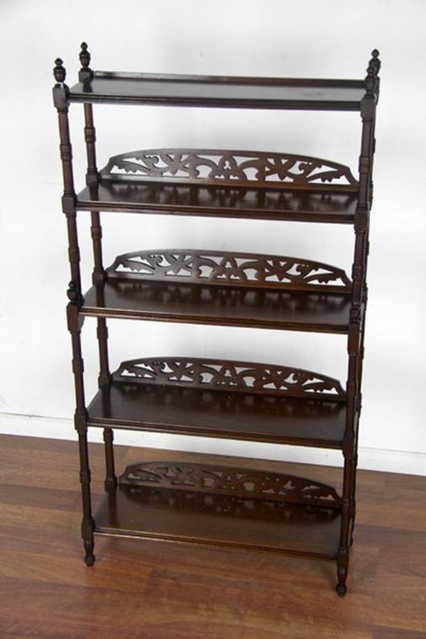 A William Iv Mahogany Dwarf Bookcase The Stepped Shelves