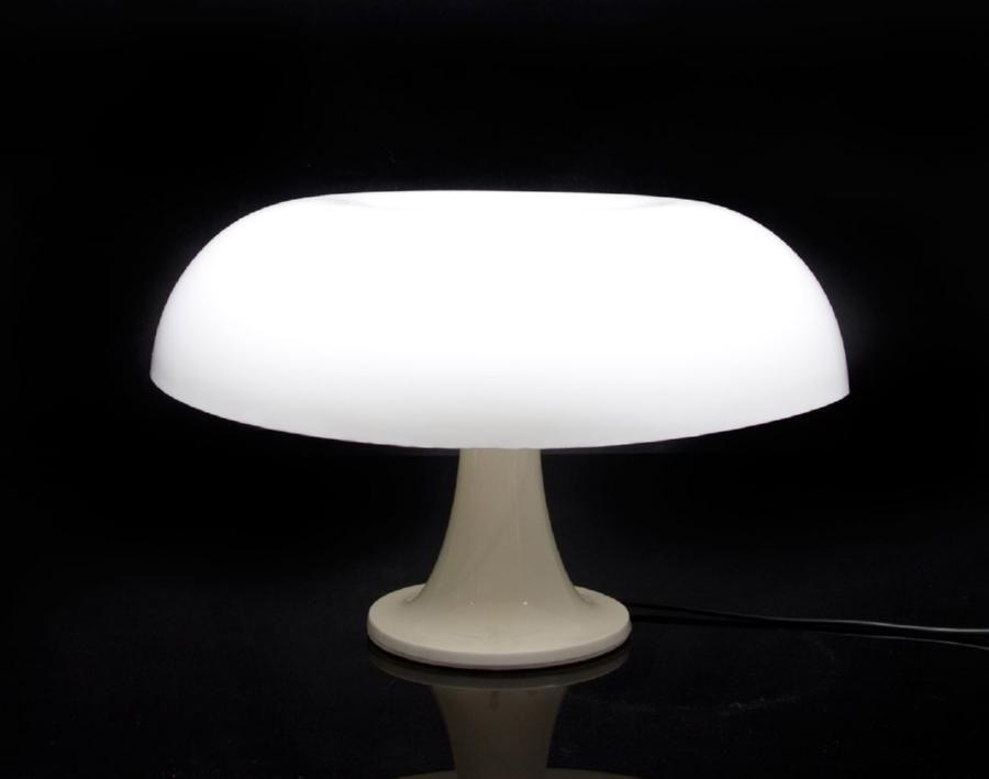 An Artemide Nesso Table Lamp The Mushroom Shape Table Lamp In