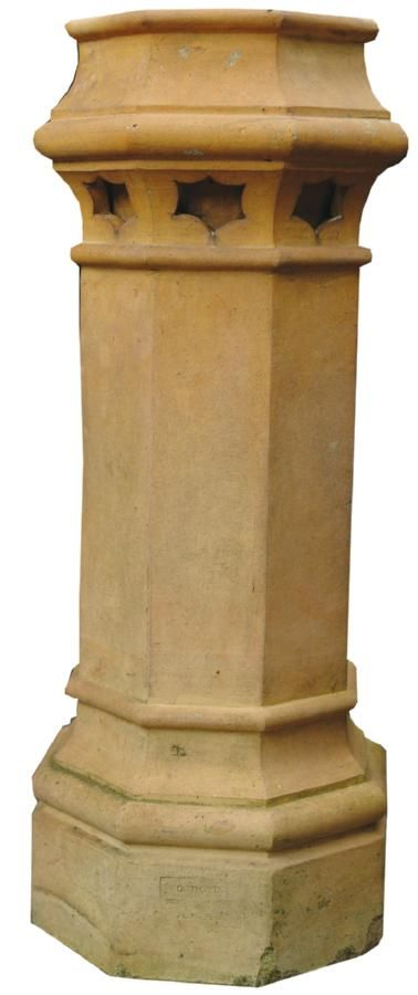 A Rare Colonial New Zealand Terracotta Chimney Pot Made By