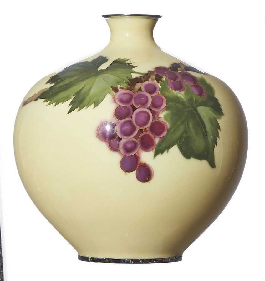 A Japanese Ando Cloisonne Vase Early Showa Period Circa 1940