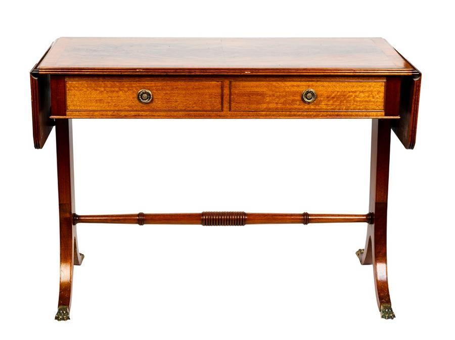 Regency style mahogany sofa table hinged rectangular top  : ce5472ab0b756cff826e98e663d200bb from www.carters.com.au size 900 x 673 jpeg 47kB