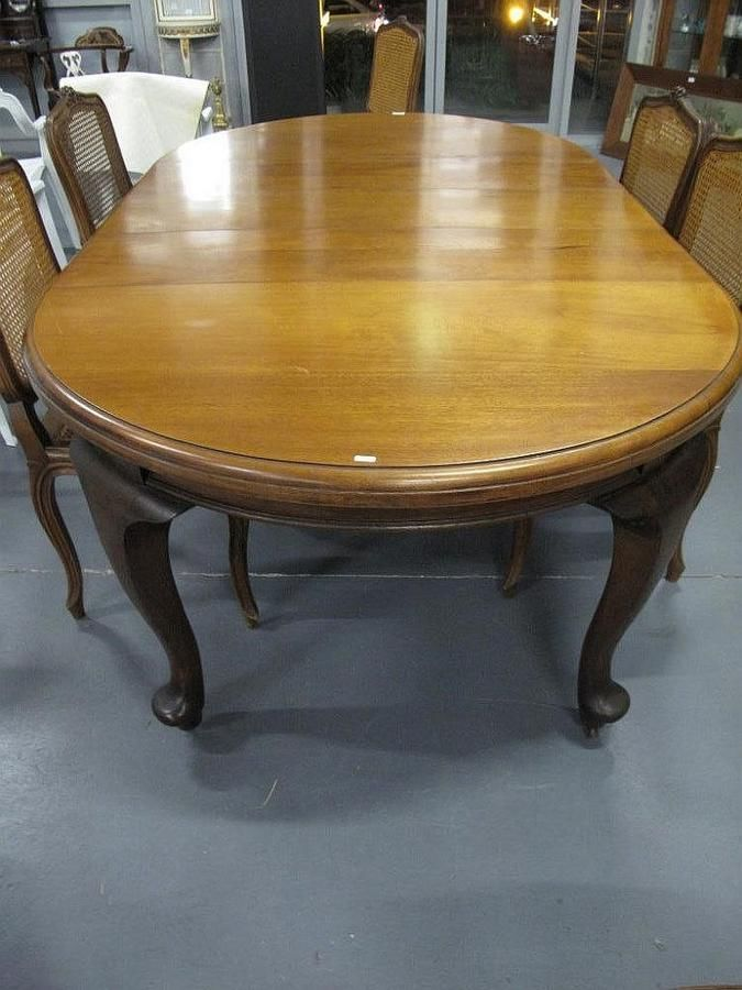 Round Dining Table Cedar Leaves With Three Antique Extension QCxWroeBd