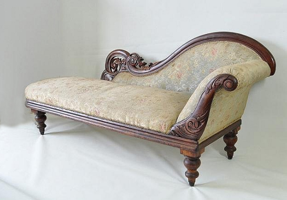 Modeles des fouteille pour le salon for Antique chaise lounge prices