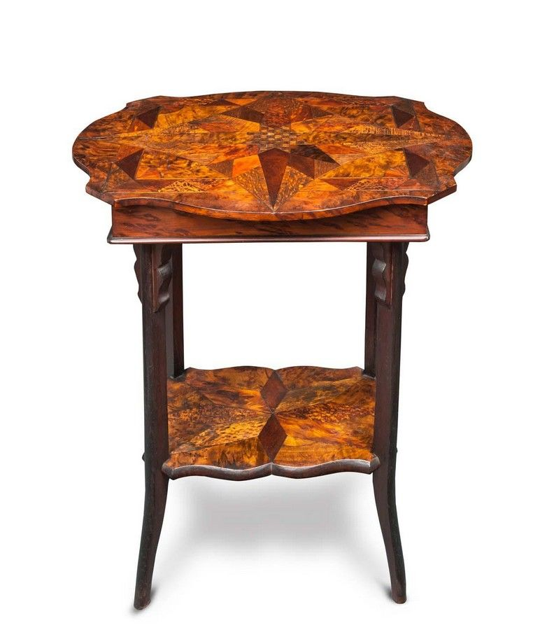 A William Norrie New Zealand Specimen Wood Work Table Late Tables Zother Furniture