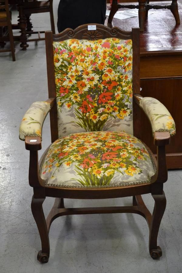 French oak provincial armchair - Seating - Singles/Pairs ...