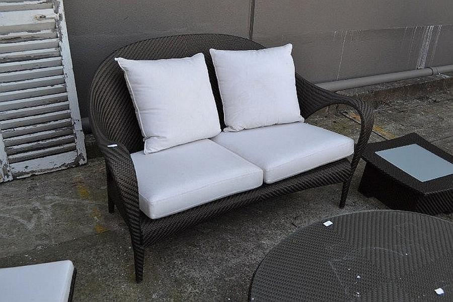dedon tango design garden settee by richard frinier approx