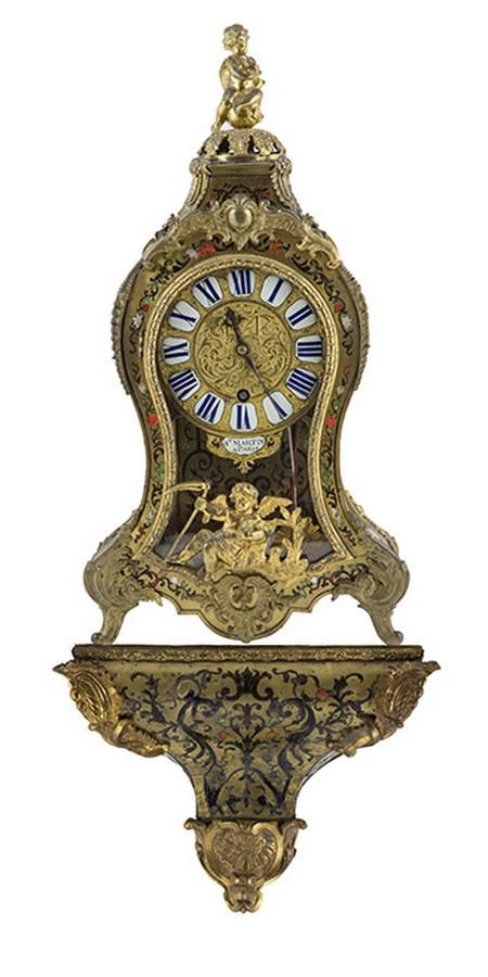 19th Century French Ormolu And Boulle Bracket Clock By St