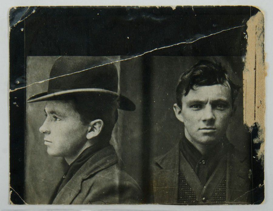 Leslie Squizzy Taylor Mugshot  1920s Melbourne underworld chief